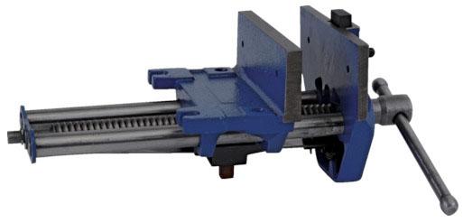 トラスコ 強力型木工用バイス 台下型 幅180mm ※取寄品 TMVHD-180