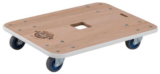 トラスコ 木製平台車 ジュピター 450×450mm 200kg メーカー直送 代引不可 JUP-4545-200