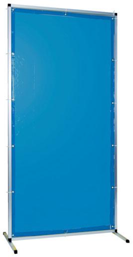 トラスコ 溶接用遮光フェンス アルミ製 W1000×H1500 ブルー ※取寄品 TYAF-1015-B