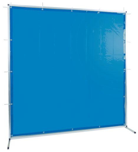 トラスコ 溶接用遮光フェンス アルミ製 W1500×H1500 ブルー ※取寄品 TYAF-1515-B