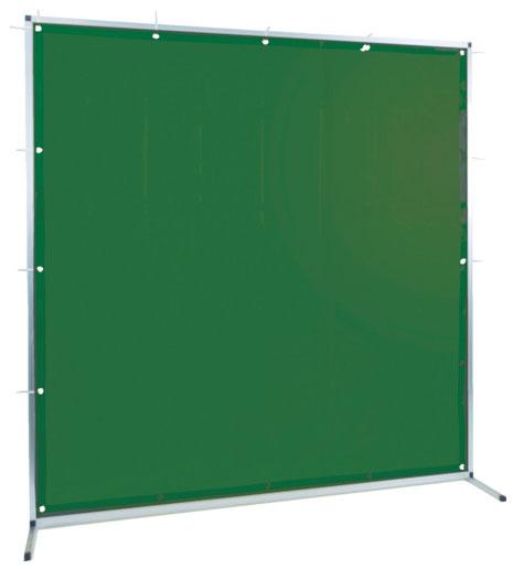 トラスコ 溶接用遮光フェンス アルミ製 W2000×H1500 ダークグリーン ※取寄品 TYAF-2015-DG