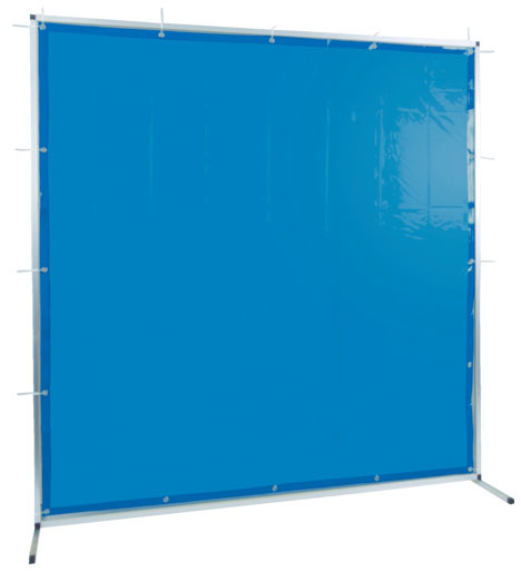 トラスコ 溶接用遮光フェンス アルミ製 W2000×H2000 ブルー ※取寄品 TYAF-2020-B