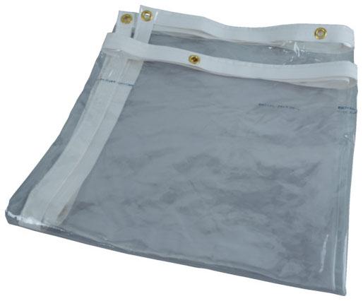 トラスコ 溶接遮光フェンス用シート 透明防炎タイプ W1470×H1470×厚0.3mm ※取寄品 D-15-3-TM