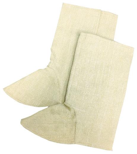 トラスコ 生体溶解性セラミック 耐熱足カバー ※取寄品 TCAAK-A