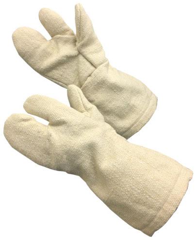 トラスコ 生体溶解性セラミック耐熱手袋 3本指タイプ ※取寄品 TCAT3-A