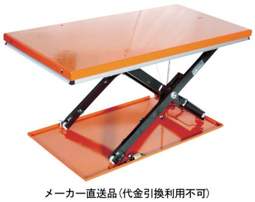 トラスコ ピットレスローリフト 1000kg 電動式 1450×800 FLC100-814