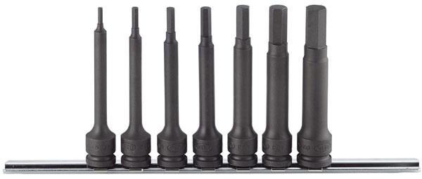 MITOLOY 3/8 ヘックスソケットパワータイプ L100 ホルダー8点セット ※取寄品 PH308ML-100