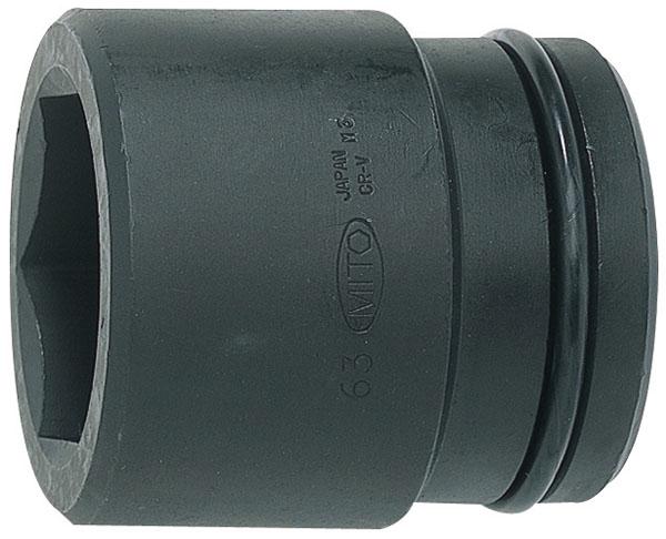 MITOLOY 1-1/2 インパクトレンチ用ソケット スタンダードタイプ(6角)60mm ※取寄品 P12-60