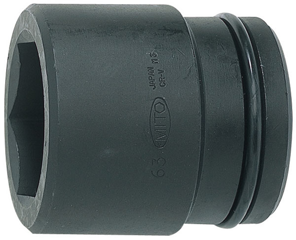 MITOLOY 1-1/2 インパクトレンチ用ソケット スタンダードタイプ(6角)85mm ※取寄品 P12-85