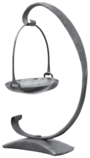 みきかじや村 millio 鍛造フラワースタンドセット (アーチ・バスケット) ※取寄品 TS224