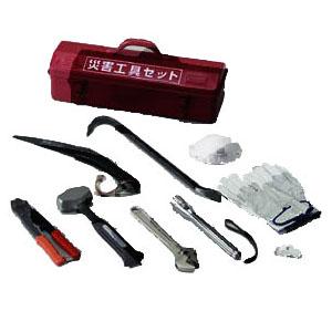 トラスコ 災害工具セット(9点)(1セット価格) TRC-C-SET