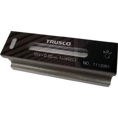 トラスコ 平形精密水準器B級 300×48×45mm・感度0.05mm TFL-B3005