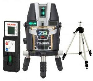 タジマ レーザー墨出し器 ゼロブルー リチウムKJY 受光器 三脚セット ※取寄品 ZEROBL-KJYSET