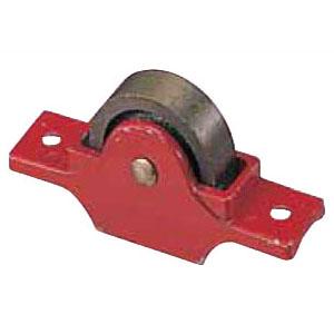 赤枠ローラー戸車 鋳物枠(90mm・袖平型)(1個価格) ヨコヅナ RJC-0903