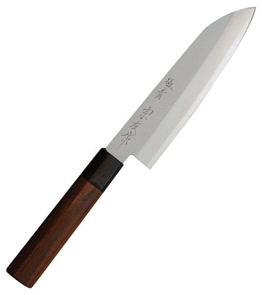 三木刃物 極青 宗友作 青紙スーパー三層 牛刀 刃長180mm ※取寄品 M151