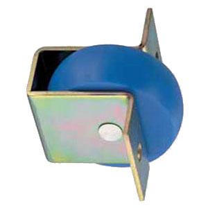 セフティーローラー 鉄枠(100mm)(1箱・2個) ヨコヅナ GMM-0030