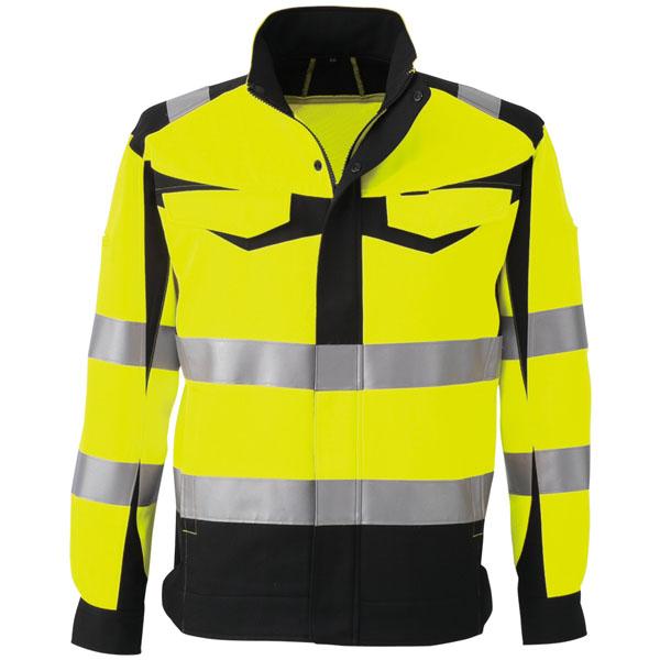 コーコス 高視認性安全ジャケット イエロー S ※取寄品 CS-2410