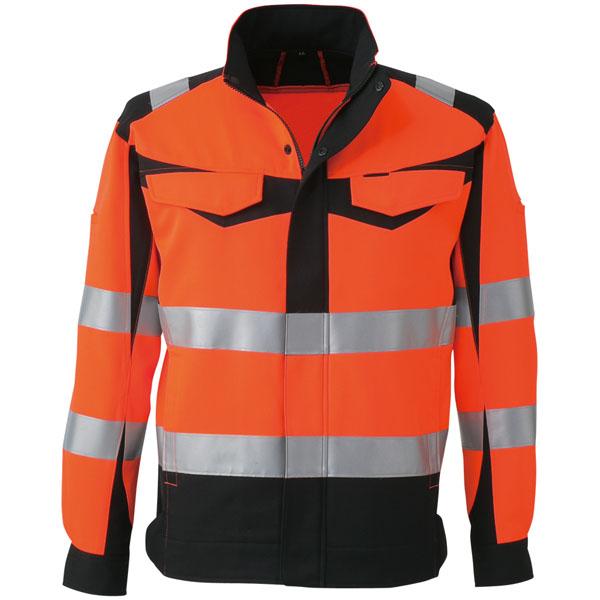 コーコス 高視認性安全ジャケット オレンジ M ※取寄品 CS-2410