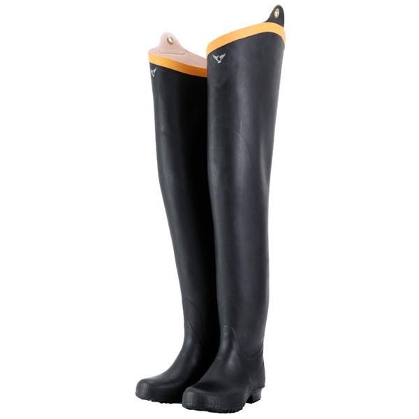 水中長靴 ブラック 27.0cm メーカー直送 代引不可 シバタ工業 NB021