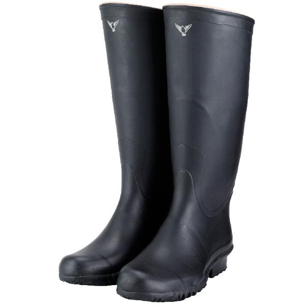 シバタ工業 実用大長靴 ブラック 27.0cm メーカー直送 代引不可 NB011