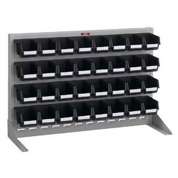 トラスコ 片面卓上式導電性パネルコンテナラック 900×305×600mm ライトグレー T-0632N-E-SV