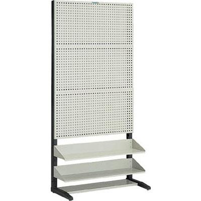 トラスコ パンチングラック(棚板付タイプ・片面)900×430×1885mm UPR-3002