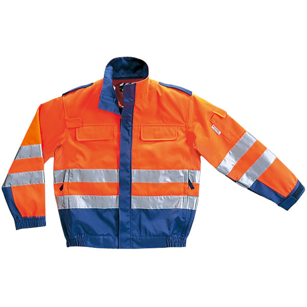 コーコス 危険回避ブルゾン オレンジ EL ※取寄品 CE-4710
