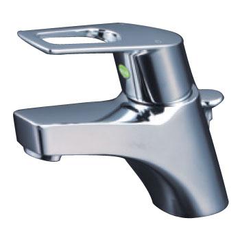 KVK 寒 洗面用シングルレバー式混合栓 ポップアップ式 eレバー ※取寄品 KM7001ZTHPEC