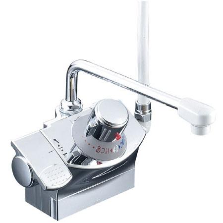 KVK デッキサーモシャワー シャワー右側 取付ピッチ100mm ※取寄品 KF821G