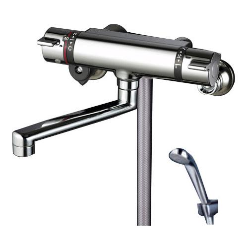 KVK 寒 サーモスタット式シャワー フルメタルヘッド付き ※取寄品 KF800WTMB