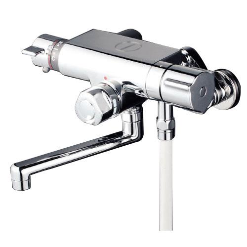 KVK 寒 定量止水付サーモスタット式シャワー 240パイプ付き ※取寄品 KF159WTR2
