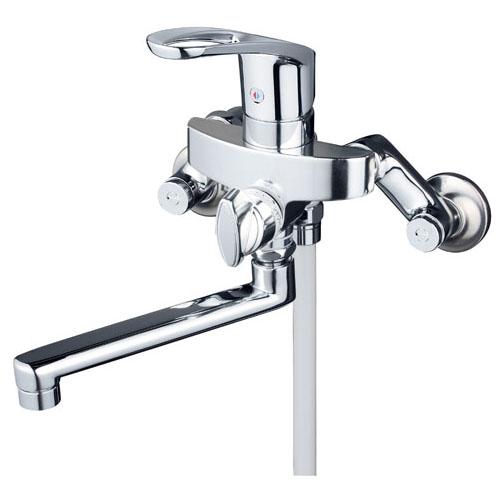 KVK 寒 シングルレバー式シャワー 逆止弁付 ※取寄品 KF5000WT