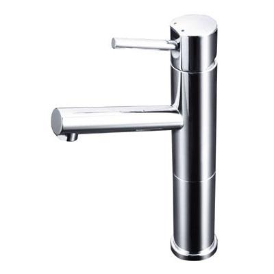 KVK 洗面用シングルレバー式混合栓ロングボディ 銅管 ※取寄品 LFM612-128
