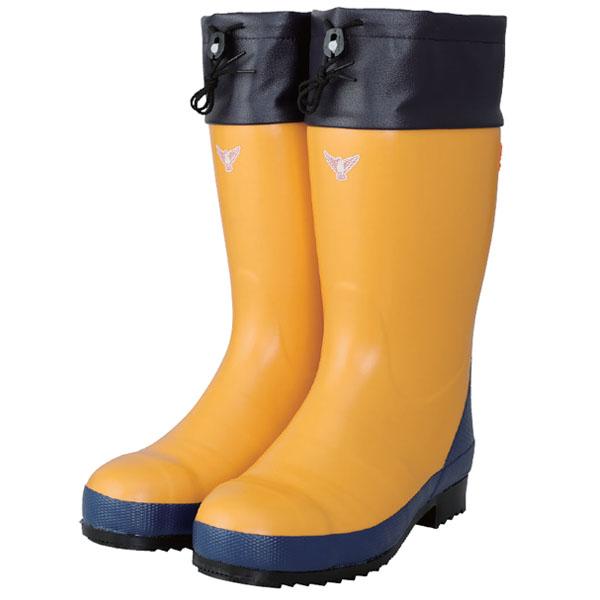 セーフティーブーツ #800 25.0cm 安全防寒長靴 イエロー メーカー直送 代引不可 シバタ工業 AC081