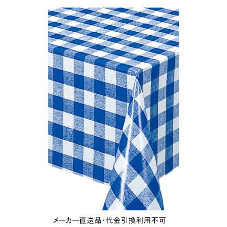 テーブルクロス ロール MGフィルム ブルー 幅120cm 30m巻 メーカー直送 代引不可 明和グラビア MG-6127 ( ロール物 テーブル テーブルクロス ビニール ビニル 塩化ビニール )