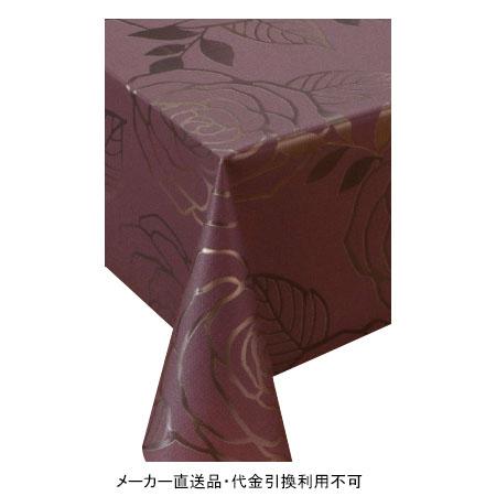 テーブルクロス ロール プリーレンスクロス パープル 幅135cm 20m巻 メーカー直送 代引不可 明和グラビア MGPL-124 ( ロール物 テーブル テーブルクロス ビニール ビニル 塩化ビニール )