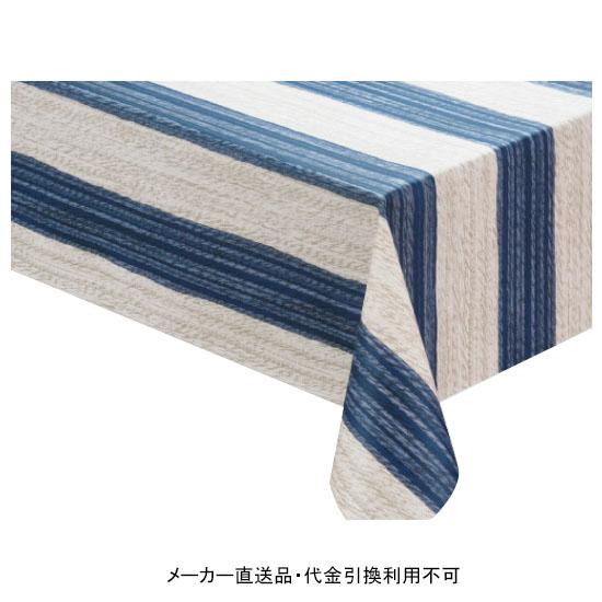 テーブルクロス ロール ニューファブリッククロス ブルー 幅120cm 20m巻 メーカー直送 代引不可 明和グラビア NFC-111 ( ロール物 テーブル テーブルクロス ビニール ビニル 塩化ビニール )