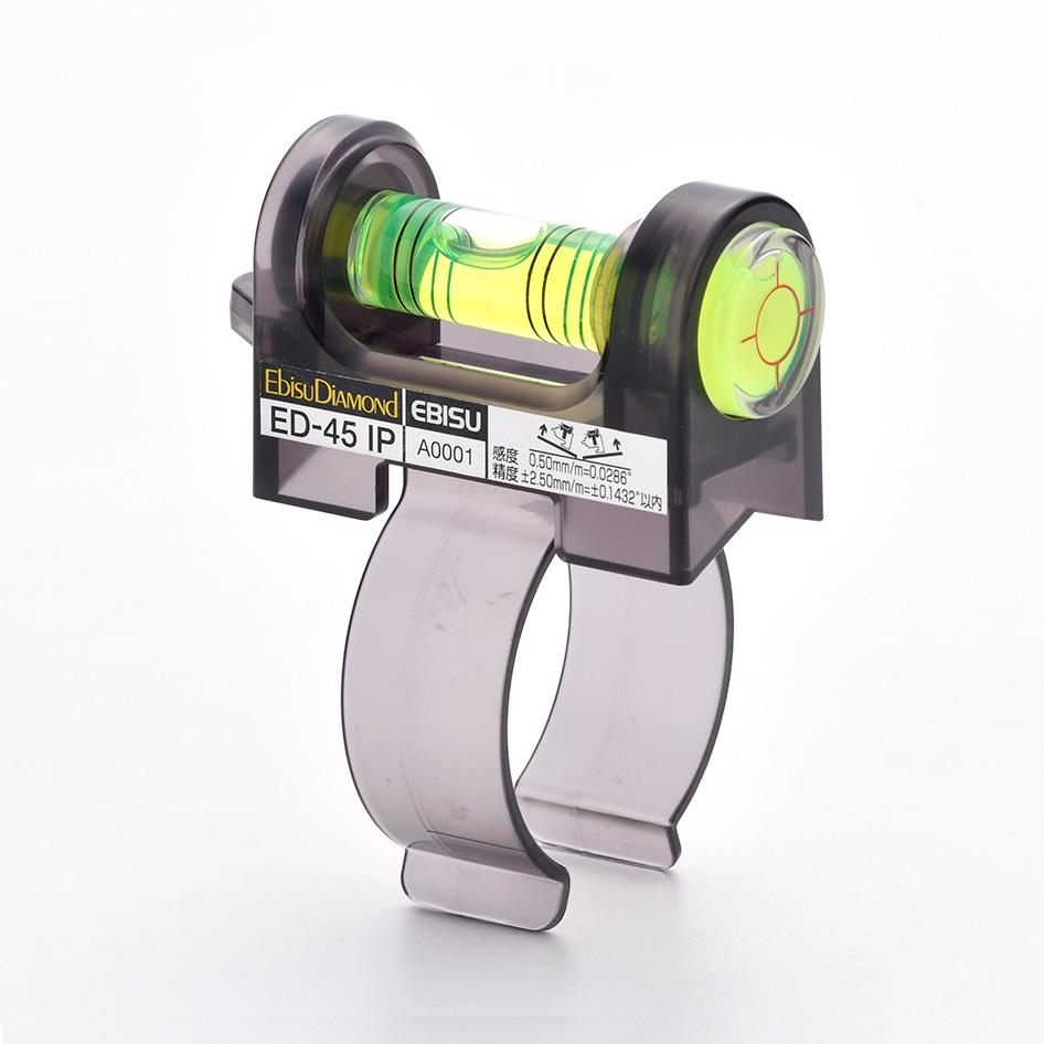 ミニレベル インパクト ドライバー用 激安卸販売新品 水平器 マキタ ED-45IP エビス 限定タイムセール HiKOKI対応 EBISU 取寄品
