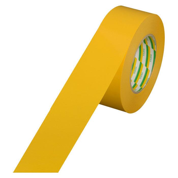 耐久ラインテープ イエロー 1箱10巻 50mm×50m 取寄品 ダイヤテックス TL-15-YE