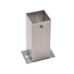 タナカ ステンレス装飾柱脚金物Sタイプ 100角型(6個1ケース) ※取寄品 AD4102S0