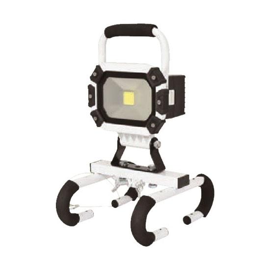 着脱式LEDチャージライトマルチ 20W 取寄品 日動 BAT-HRE20SN ( 連続点灯 床置き 三脚 パイプ ぶら下げ)