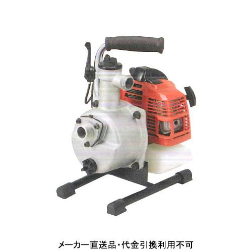 一般排水用エンジンポンプ TE型 口径25×25mm メーカー直送品 代引不可 ツルミポンプ TE4-25MC