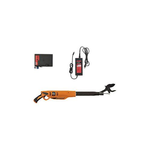 太丸充電 750 バッテリー・充電器付 取寄品 ニシガキ N-910 ( 太枝 40mm 充電式)