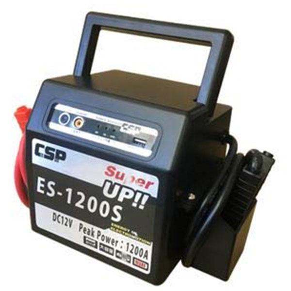 DC12V新バッテリー搭載ブースターパック 取寄品 ムサシトレイディング ES-1200S ( 小型 軽量 バッテリー)