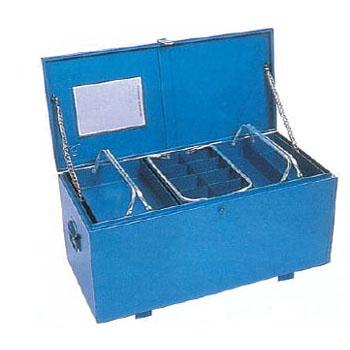 大型車載用工具箱(GT-9100・ブルー)【代引不可・メーカー直送品】 リングスター GT-9100