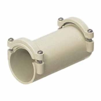カップリング(ビス型)PF管単層波付管42用 20個価格 未来工業 FPC-42