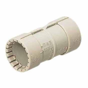 カップリング(Gタイプ)PF管36用 ベージュ 50個価格 未来工業 MFSC-36G