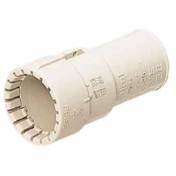 コンビネーションカップリング(Gタイプ)PF管36⇔VE管36 ミルキーホワイト 50個価格 未来工業 MFSVE-36GM