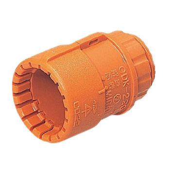 コネクタ(Gタイプ・溶着シート付)PF管16用 200個価格 未来工業 MFSK-16GSA