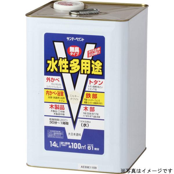 水性多用途 白 14L 取寄品 サンデーペイント #265961